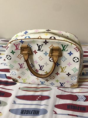 Louis Vuitton Trouville white Monogram Hand Bag for Sale in Norwood, MA