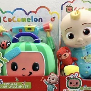Cocomelon Bundle JJ Doll And Doctor Musical Kit for Sale in Bloomington, IL