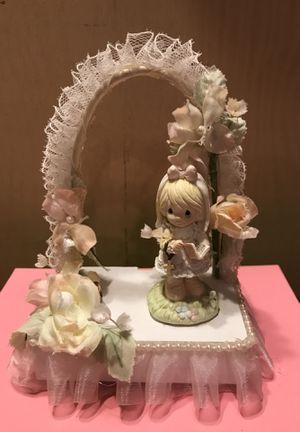 Pretty Vintage Musical Precious Moments Decor or Cake Topper for Sale in Gainesville, VA
