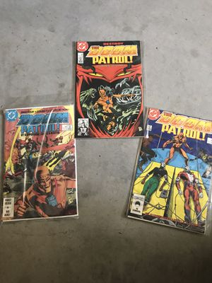 Lot Of 3 Doom Patrol! Comics for Sale in Murrieta, CA