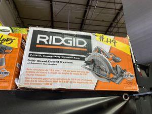 RIDGID 15 Amp 7-1/4 in. Circular Saw for Sale in Phoenix, AZ
