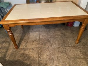 Kitchen Table and 4 Chairs for Sale in Virginia Beach, VA