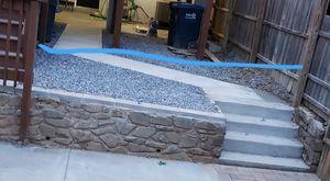Blue/gray stone gravel for landscaping for Sale in Washington, DC