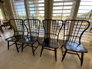Sanctuary Wooden Spindle Back Dining Chairs for Sale in La Quinta, CA