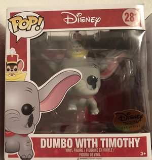 Funko pop vinyl Dumbo with Timothy for Sale in Dallas, TX