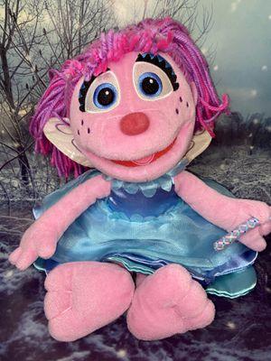 """Large Sesame Street ABBY CADABBY 16"""" plush doll for Sale in Bellflower, CA"""
