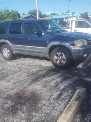 2002 MAZDA TRIBUTE DX A.C. GOOD ENGINE TRANNY ALL POWER WINDOWS ALL WORK for Sale in Hollywood, FL