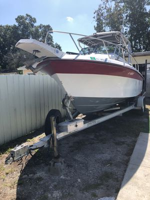 22' Wellcraft 250 Yamaha OX66 alluminum tandem torsion trailer for Sale in Town 'n' Country, FL