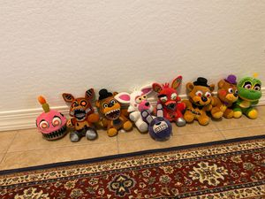 FNAF plushies lot for Sale in Gilbert, AZ