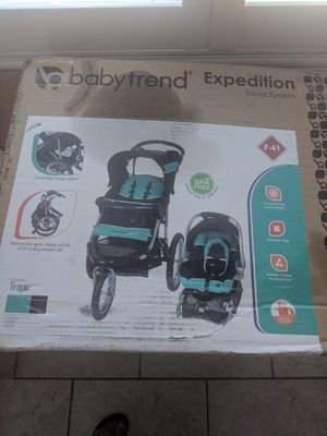 Jogger stroller with car seat for Sale in Perris, CA