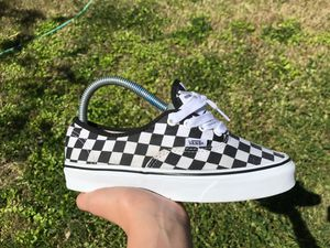 Black and white checkered authentic size 5.0 for Sale in Sacramento, CA