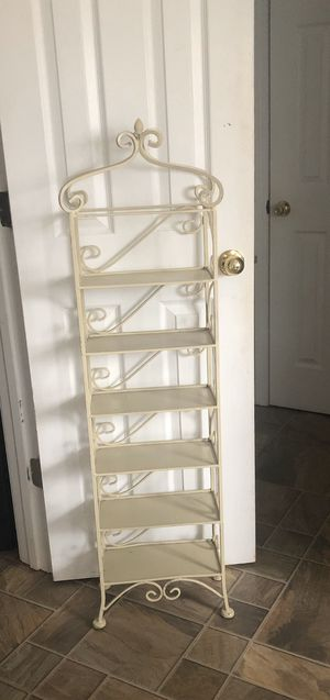 Rod Iron Tiered Shelf Stand for Sale in Woodruff, SC