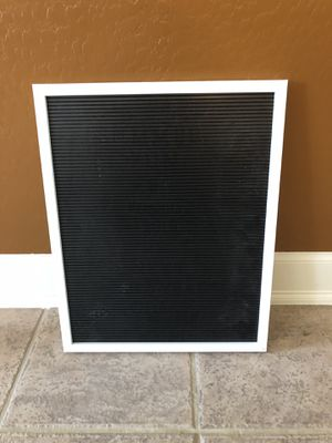 Black/White Letterboard for Sale in Mesa, AZ