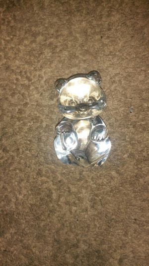 Fenton art glass bear for Sale in Quincy, IL