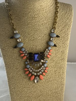 J Crew large boho feel statement necklace for Sale in Clackamas, OR