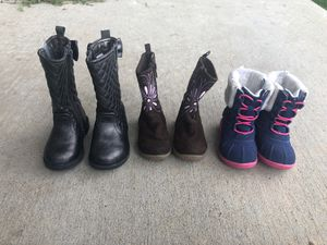 Toddler Girl Boots size 5 for Sale in Twin Lakes, CO