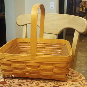 Longaberger Basket Handwoven for Sale in Rialto, CA