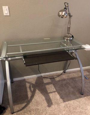 Modern Glass Office Desk for Sale in San Diego, CA