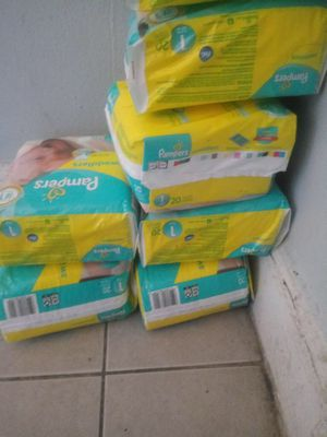 Pampers brand size 1 for Sale in Queens, NY