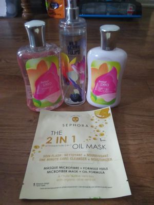 Lotion,body wash,face mask,perfume for Sale in Anaheim, CA