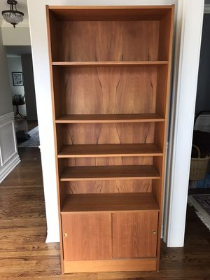 Solid Wood - DANISH - Bookshelves / Bookshelf Unit - heavy for Sale in Westmont, IL