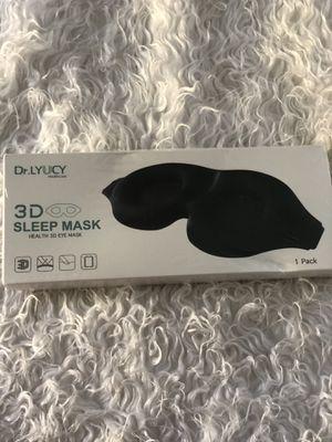 Dr. Lyucy 3D sleep mask health 3D eye mask for Sale in Lynwood, CA