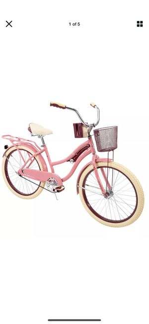 """Huffy Nel Lusso Classic Cruiser Bike Girl's Pink Blush Powder 24"""" BRAND NEW. Factory Sealed for Sale in Benicia, CA"""