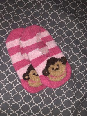 Sock slipper monkeys size 2-3 in girls for Sale in Castro Valley, CA