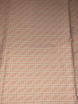 "NWT Fendi Logo Print Pink Baby Blanket. Size 37""x39"" for Sale in Hillsboro,  OR"
