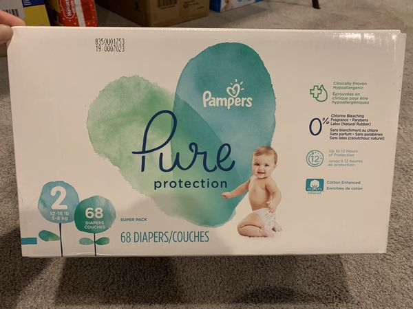 Pampers for sale