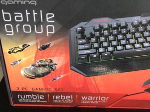 Tzumin keyboard gamin set computer for Sale in Seattle, WA