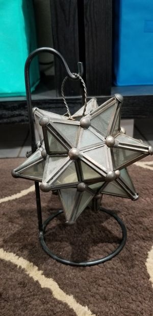 Metal Decoration Star Candle Holder for Sale in Henderson, NV