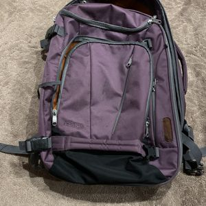 Travel Backpack (Suitcase-Style zipper openings) Retail $105 for Sale in Buena Park, CA