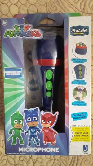 PJ MASKS MICROPHONE $13 ✔✔✔ PRICE IS FIRM✔✔✔ for Sale in Huntington Park, CA