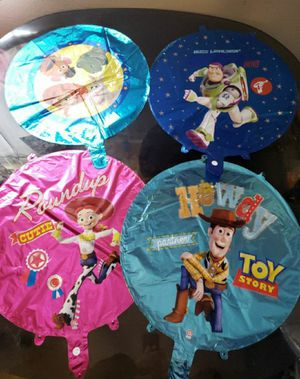 Toy story balloons toy story party supplies for Sale in Bellflower, CA