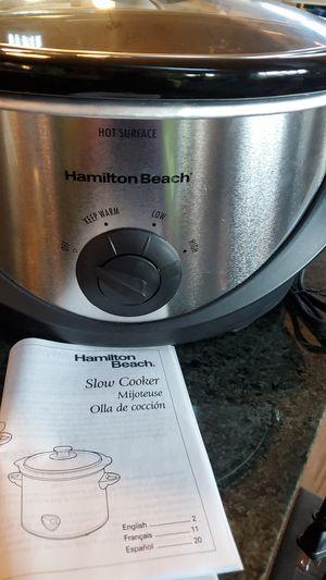 Hamilton Beach Crock Pot for Sale in Seattle, WA