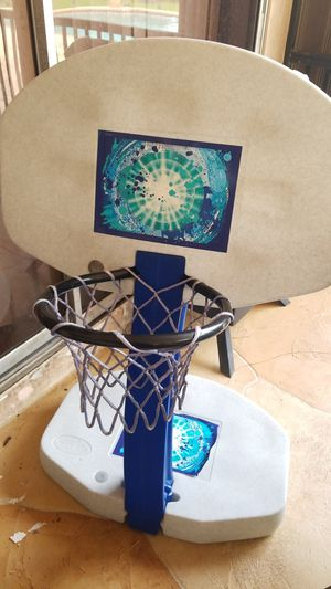 Poolside Basketball Hoop for Sale in Coral Springs, FL