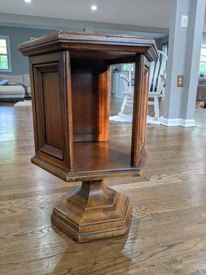 Antique hexagonal end table for Sale in Great Falls, VA