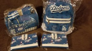 Dodgers backpacks new with tags and wallets for Sale in Lynwood, CA