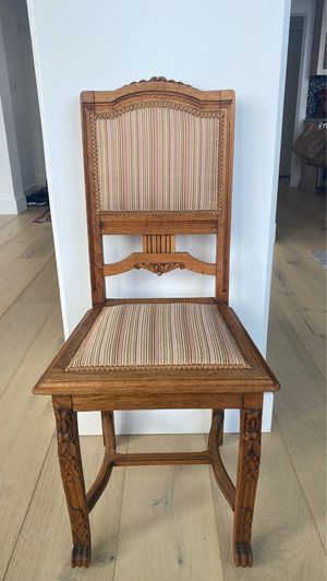 Antique cushioned dining chairs x6 for Sale in Seattle, WA