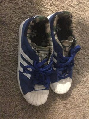 ROYAL BLUE ARMY GREEN ADIDAS 🔥 for Sale in Las Vegas, NV