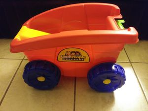 Little People Builders Baby/toddler/ kids Wagon for Sale in Albuquerque, NM