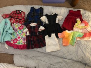 Doll clothes fits American girl for Sale in Gilbert, AZ