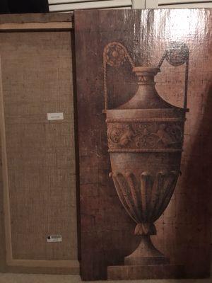 Canvas vase artwork for Sale in Greenville, SC