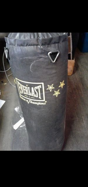 Punching bag for Sale in Lawrence, MA
