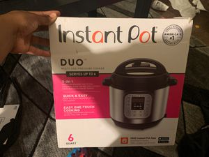 Instant pot duo brand new never used for Sale in Beaumont, CA