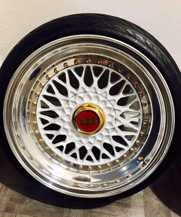 BBS RS PRIMA DONNA FINISH WHEELS!! For Sale In Bronx, NY