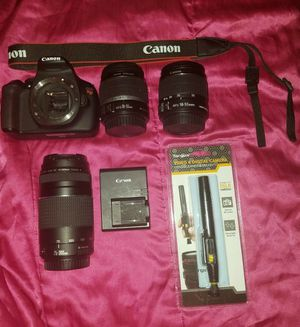 Canon set for Sale in Houston, TX