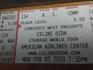 Celine Dion tickets for Sale in Fort Worth, TX