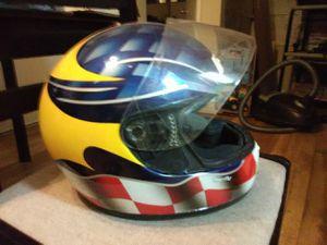 Large motorcycle helmet full face for Sale in Los Angeles, CA